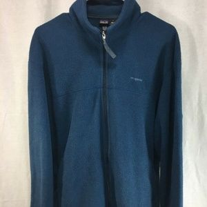 VTG Patagonia Blue Fleece Jacket Coat Full Zip USA